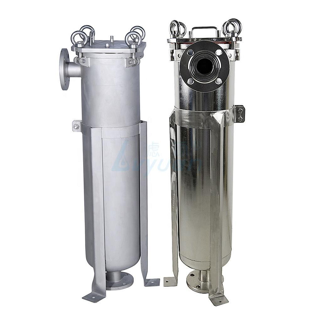 stainless steel filter bag housing ss304 ss316 for water filtration