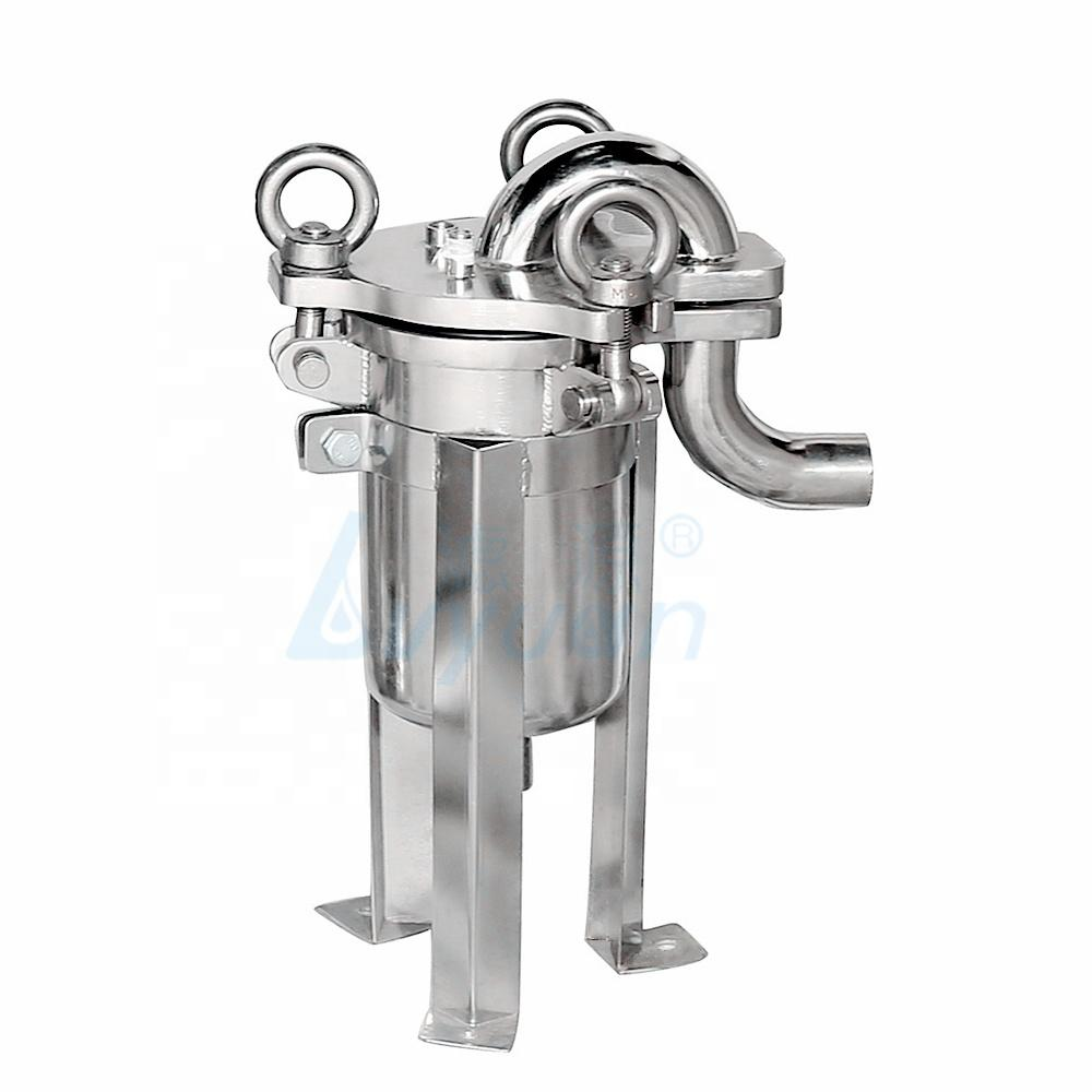 stainless steel liquid ss304 bag filter/bag filter housing filter bag size 2 for water filtration
