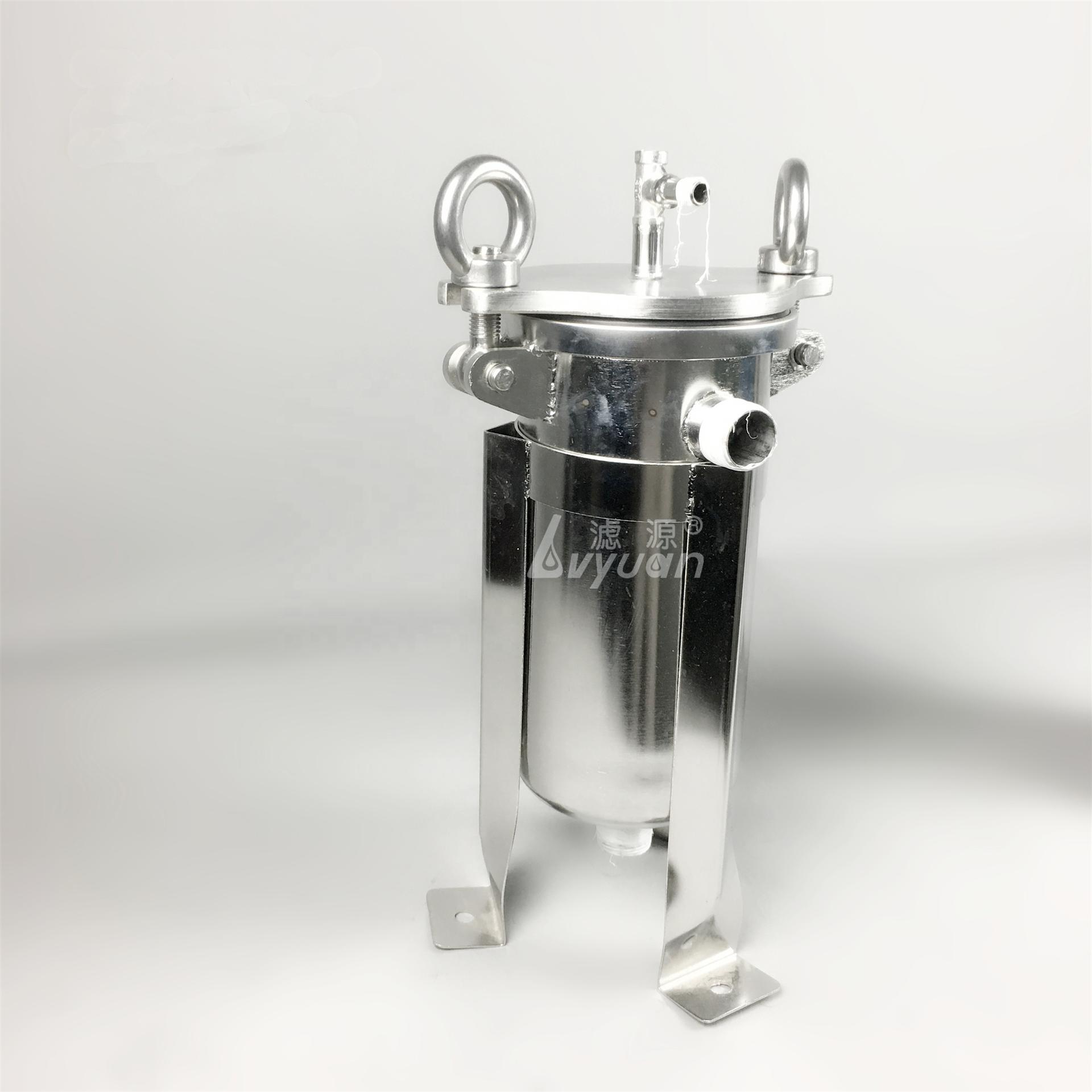 ss304 ss316 food grade water bag filter stainless steel bag filter housing for liquid filtration