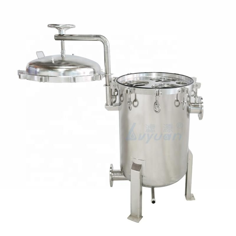 30m3 50m3 100m3 H High Flow Stainless Steel Multi bag filter water filter for sea water pre filtration equipment supplier