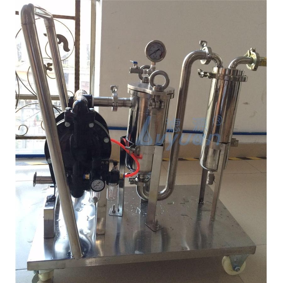 Guangzhou Price stainless steel industrial filter housings filter Bag Filter Vessel for water/beer/wine/juice filtration
