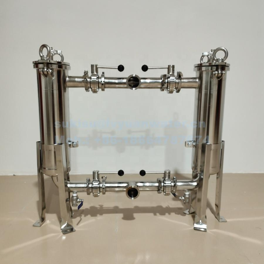 Manufacture Single/Duplex Stainless Steel Bag Filter Housing for Water filtration Treatment