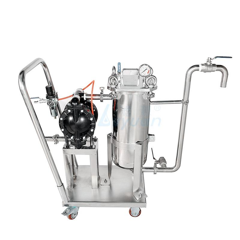 bag filter machine filter water ss housing filter bag size 1 2 3 4 for liquid filtration