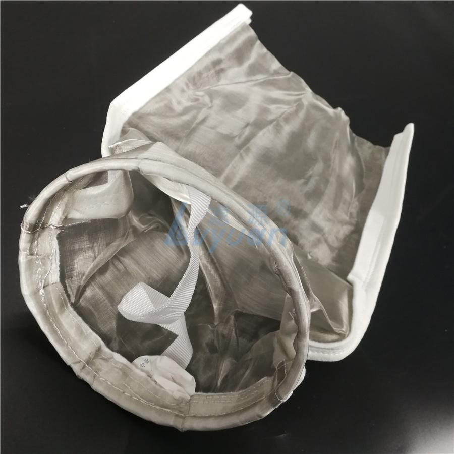 Customized NO. # 1 2 3 4 5 SS Stainless Steel Mesh Filter Bag with 50 100 150 200 300 um micron