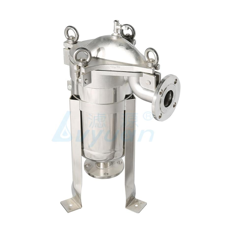 high pressure water bag filter housing stainless steel 304 316 for syrup filtration