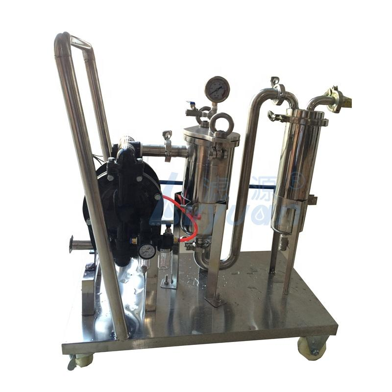 Customized SS Commercial Industrial Beer filtration system Stainless steel wine filter equipment liquid filtering machine