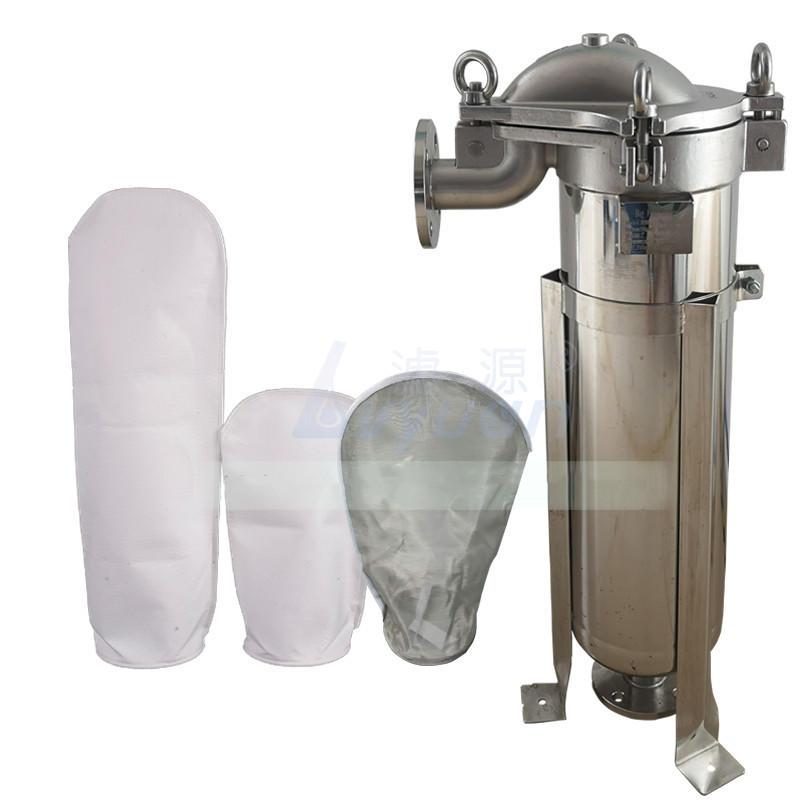 Single bag type veseel PP plastic stainless steel bag high pressure water filter housing
