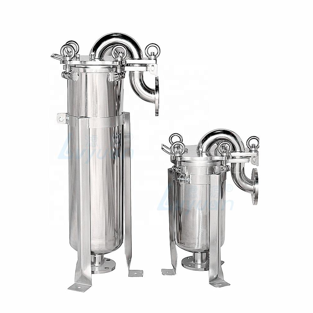 water pre filtration water system high pressure 300 psi ss filter housing water bag filter housing