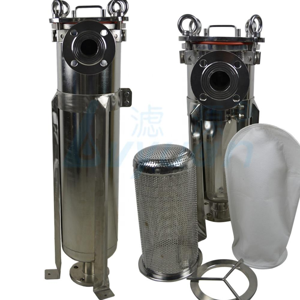 stainless steel 304 316 bag filter housing/Multi bag filter for industrial liquid/water/beverage filtration
