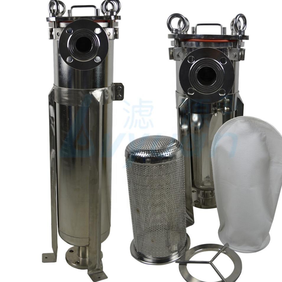 stainless steel 304 316 bag filter housing/Multi bag filter for industrial liquid/water/beverage filtration