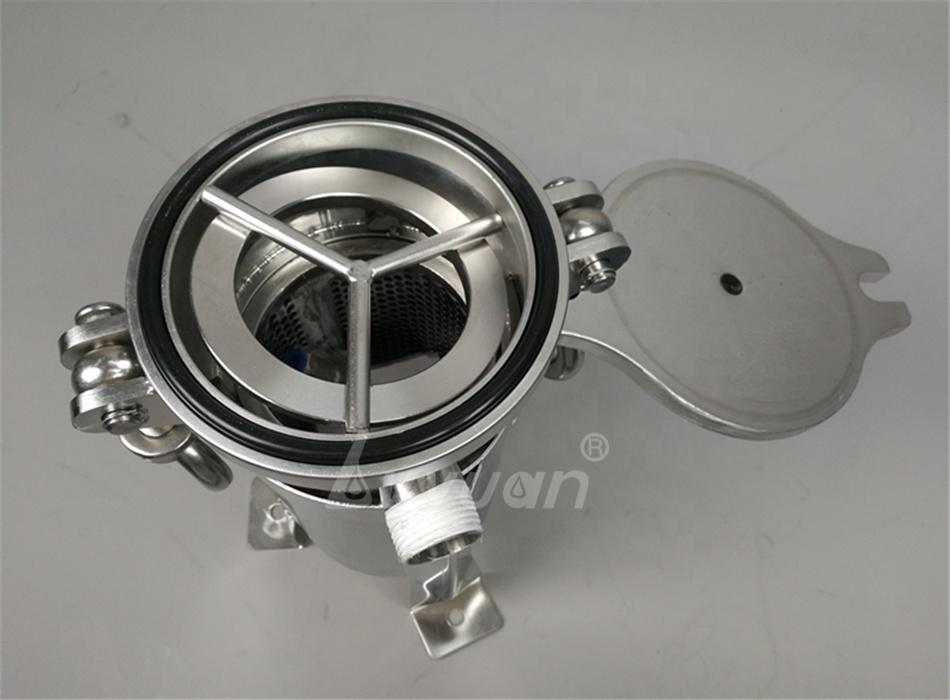 High filtration efficiency absolute rating 3 micron PP filter bag filter housing for coconut water milk oil filtration