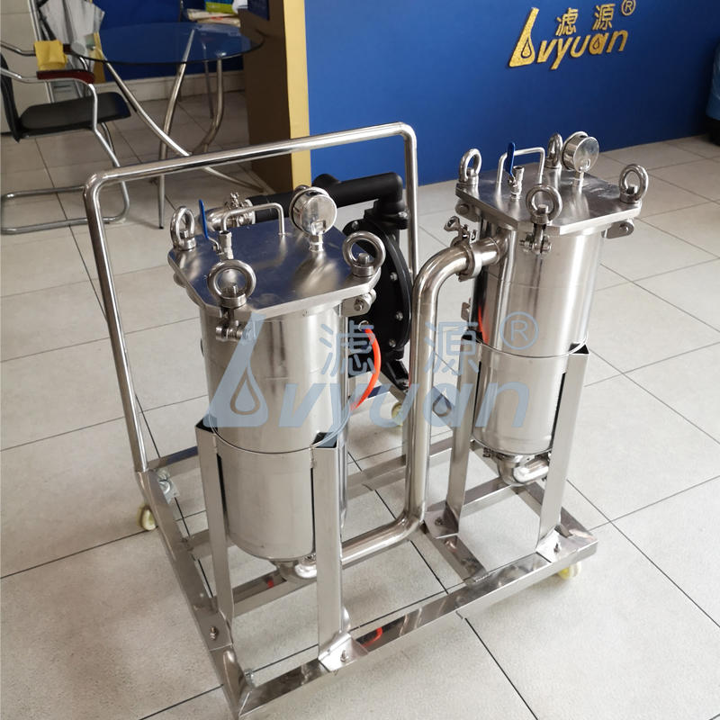 Industrial SS304/316L Stainless Steel beer food milk wine liquid filtration system