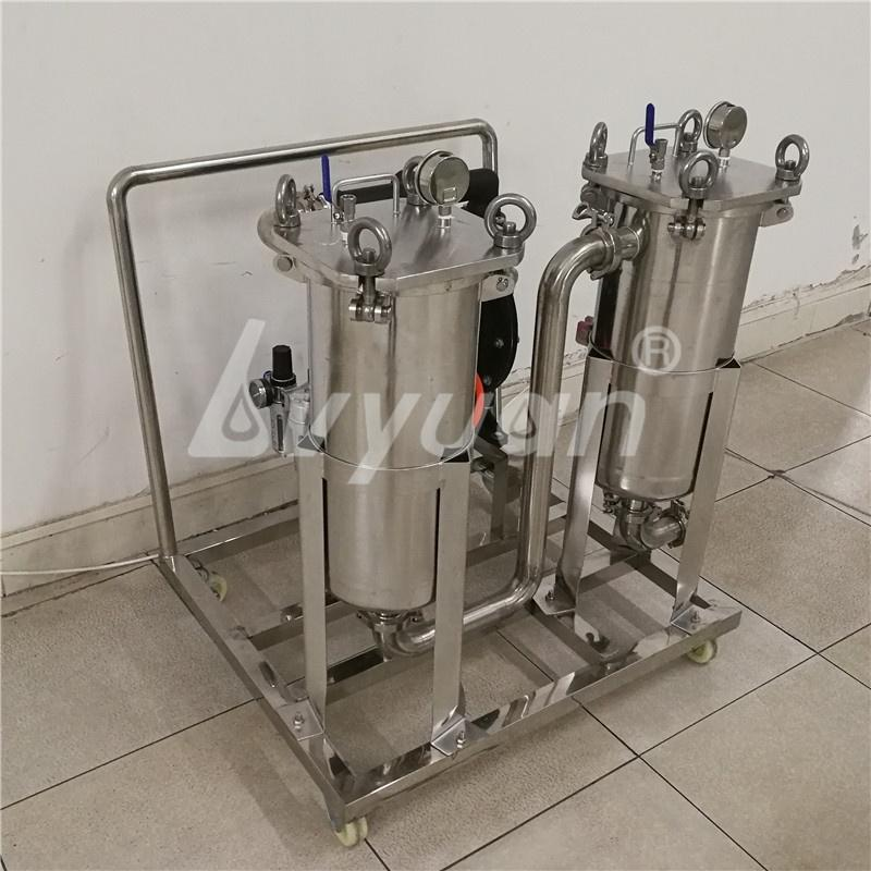 Manufacturer Industrial Filtration filter housings SS Bag Filter Housing with 1/5/10/25/50/100 micron