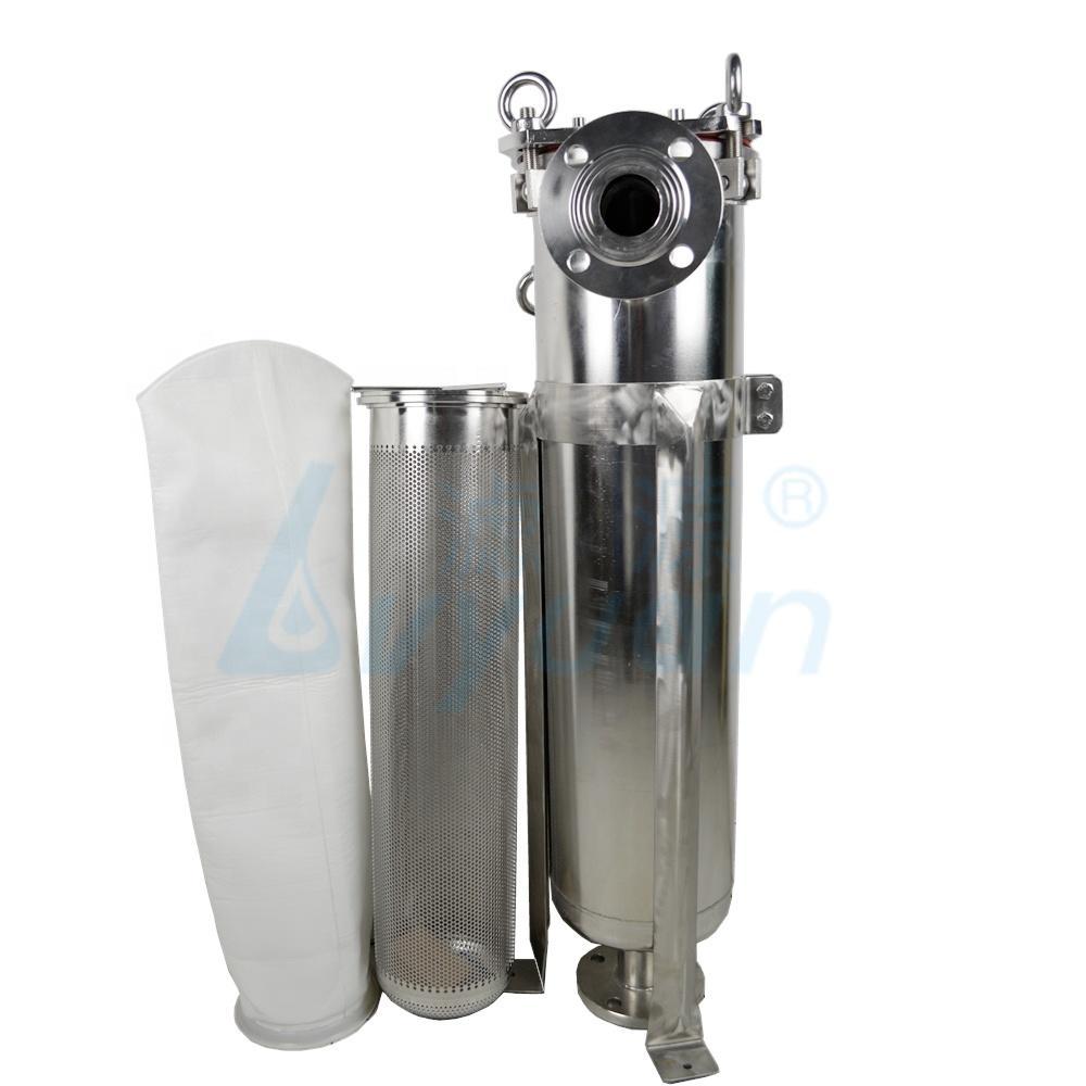Food grades filter bag manufacturer Various bag filter specification pp/pe material for juice/beer/milk filtration