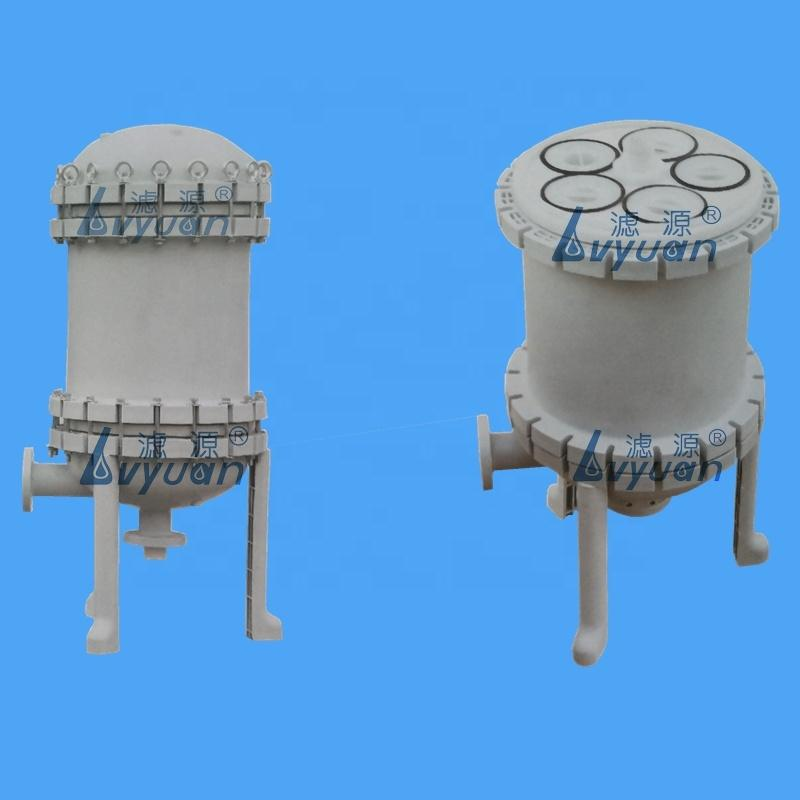 Industrial chemical filter polypropylene plastic PP filter housing for plating bag filters