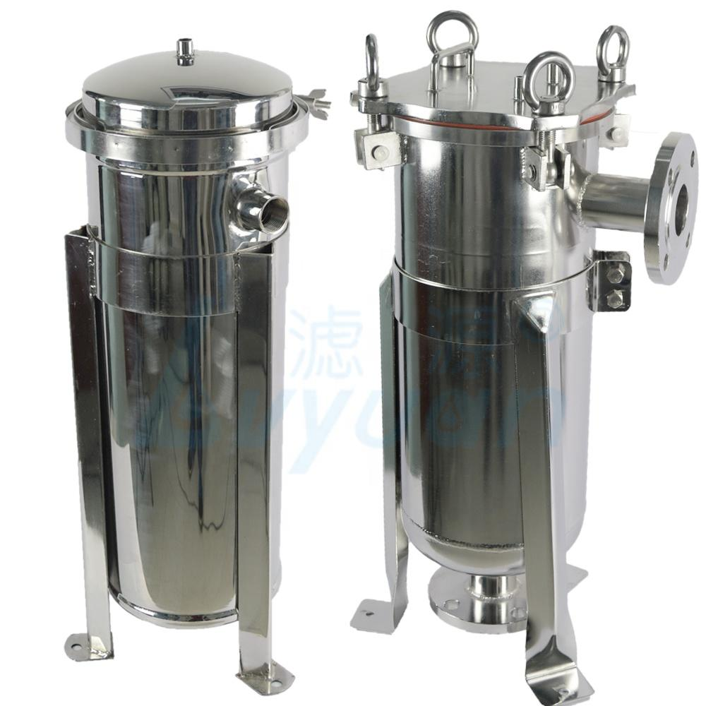 stainless steel 304 316 bag filter housing/bag filter for wine/ beer/beverage filtration