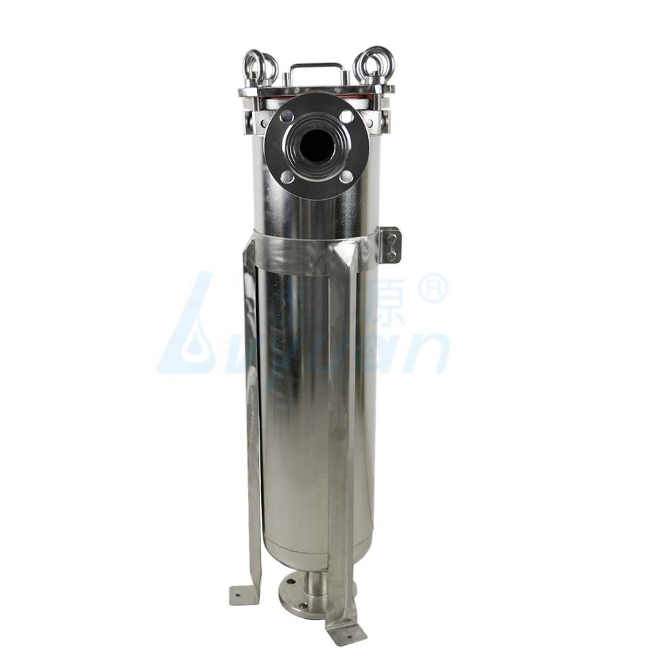 ss304 Stainless Steel Bag Filter Housing 150 Psi with single pp/ss/pe filter bag