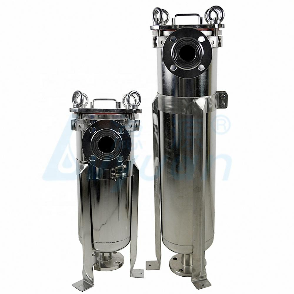 bag filter machine filter water ss housing filter bag size 1 2 3 4 for liquid filtration