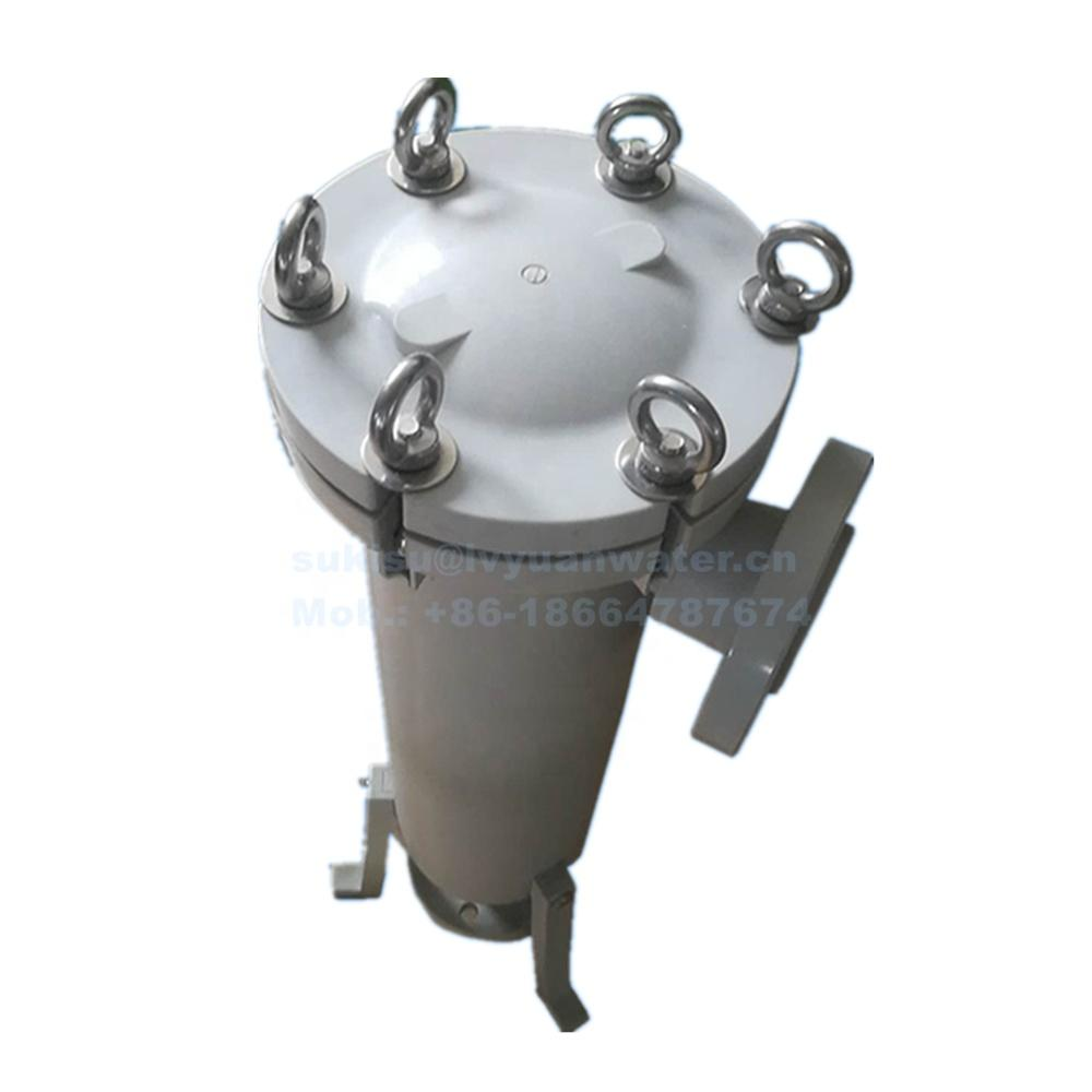 Acidic resistance #2 high Flow PP Polypropylene Bag Filter Housing for Chemical industry liquid treatment