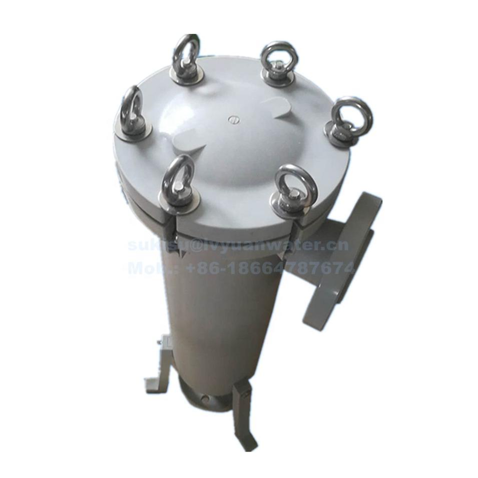 Acidic resistance #2 high Flow PP Polypropylene Bag Filter Housing for Chemical industry liquid treatment