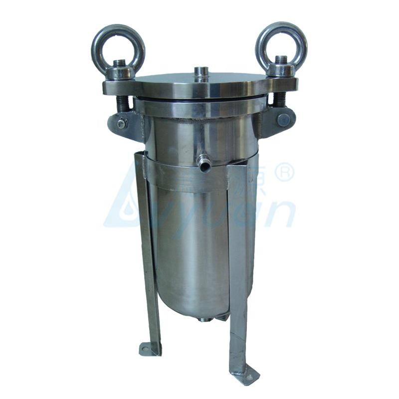 stainless steel filter housing/tri clamp filter bag filter housing ss304 100 psi for industrial water filtration