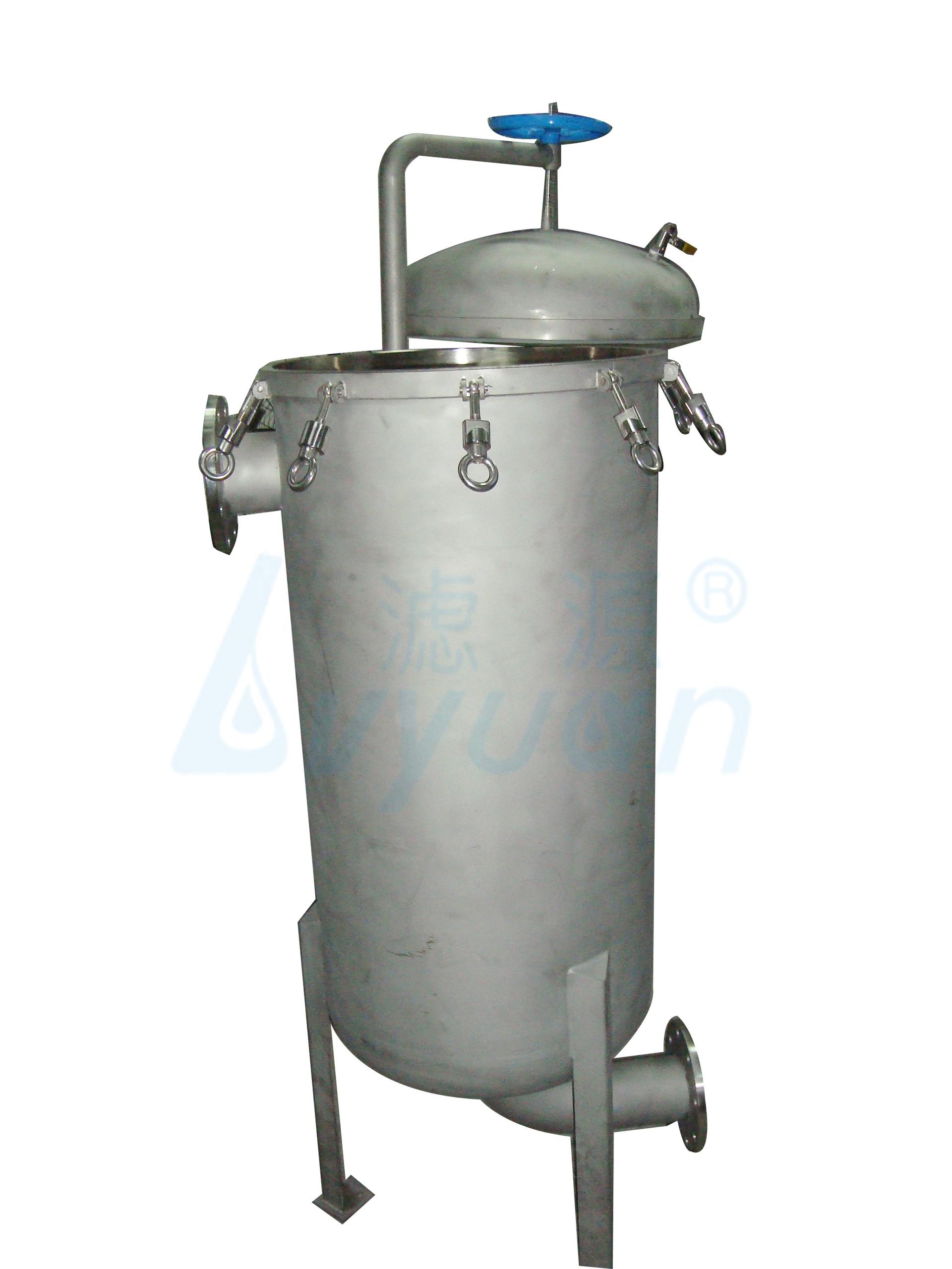 SS304 Multi Bag Filter Housing/stainless steel water filter housing for liquid filtration system