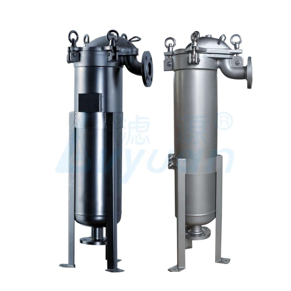 Ss Single Bag Filter Housing/316 Stainless Steel filter strainer for Industrial Liquid Filtration