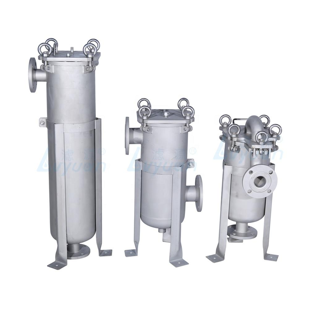 water bag filter housing stainless steel bag housing for industrial liquids filtration