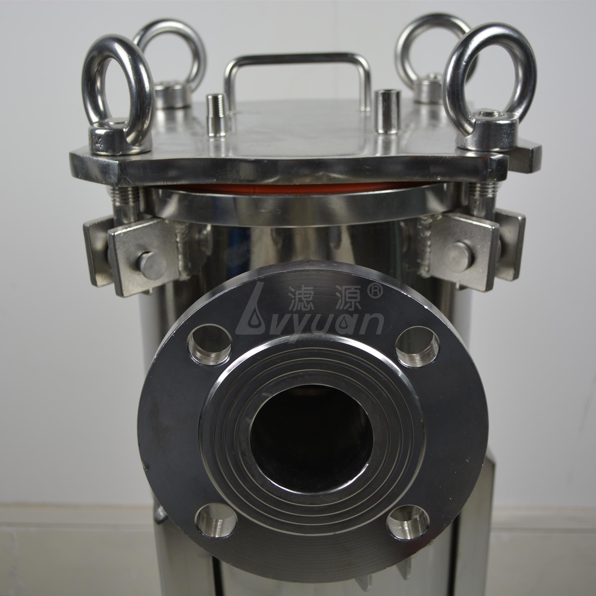 High pressure water filter housing/ Single bag filter housing Stainless steel ss304 ss316 with filter bag 1 5 micron