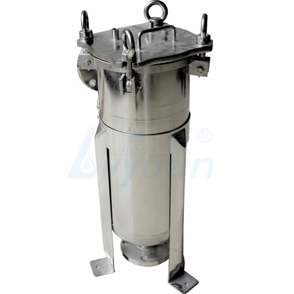 filter bag #1 #2 stainless steel bag filter housing /liquid/ water ss housing filter