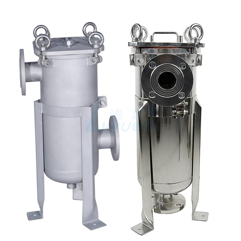 Liquids filtration Bag filter housing stainless steel 304 316L polished and matte surface