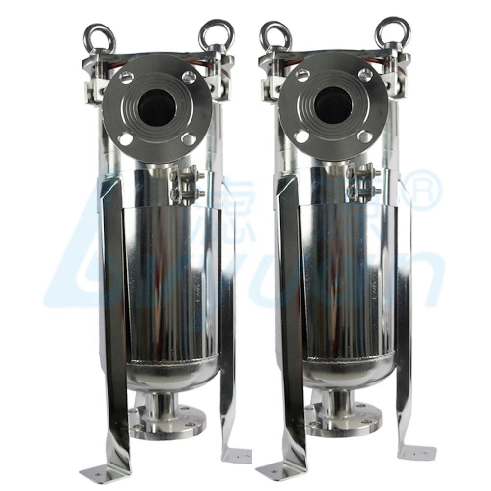 ss304 ss316 industrial water bag filter housing/bag filter for pharmaceutical liquid filtration