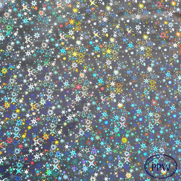 HIGH END Star printed glitter gift wraping paper manufacturer