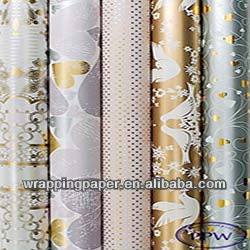 Luxury wrapping paper Christmas gift design