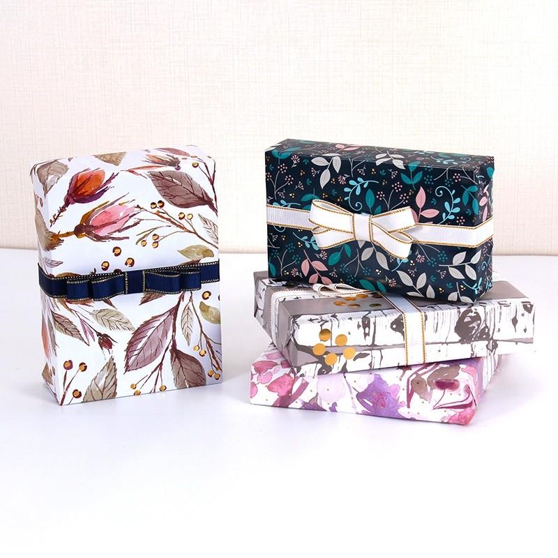 Customer Gift Kraft Wrap Roll Paper Gift Packaging