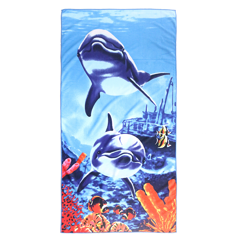 microfiber beach towel cheap price with high water absorption special printed