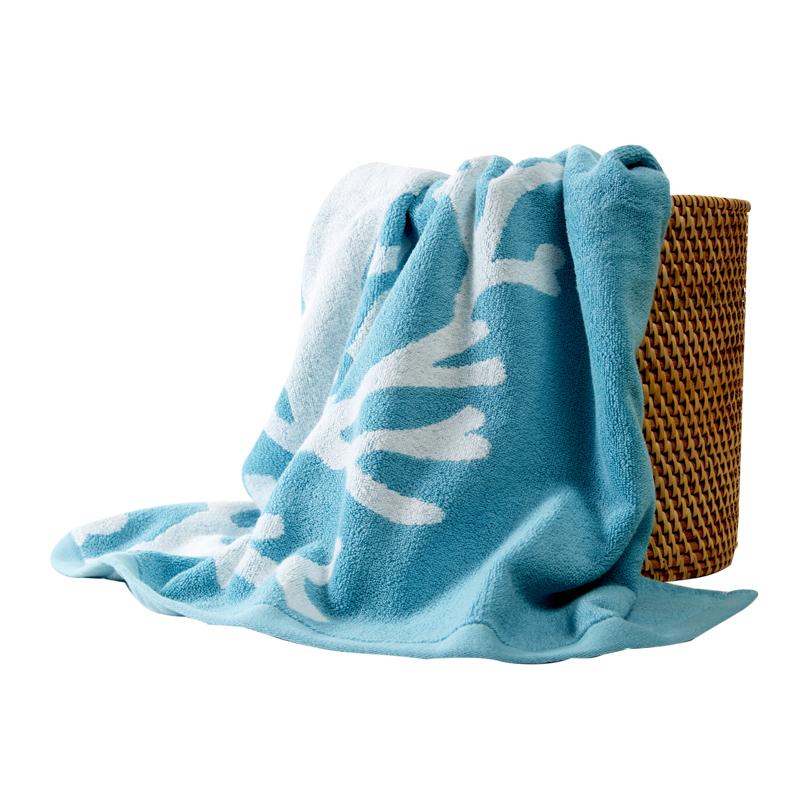 Custom wholesale 100% cotton towel high quality Jacquard Towel