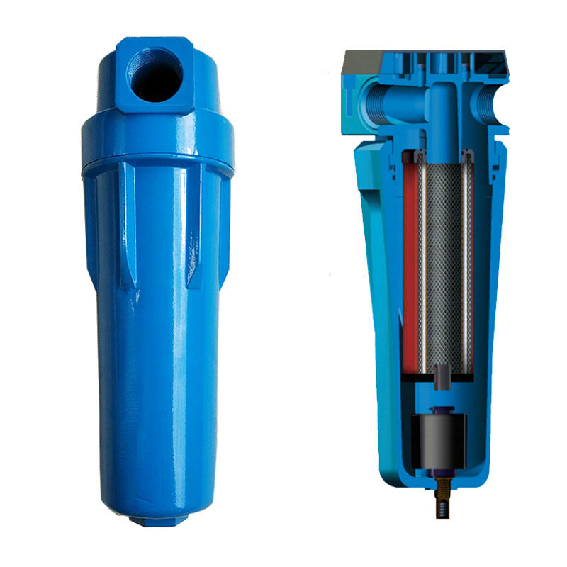 Air filter HNS7-2-25 Pharmaceutical Industry Environment-friendly compressed air filters