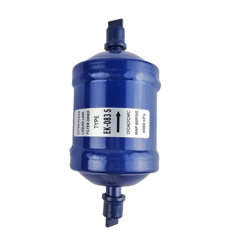 Refrigeration Dry Filter EK-052S EK-083S Molecular Sieve Liquid Line Refrigerator Filter Drier