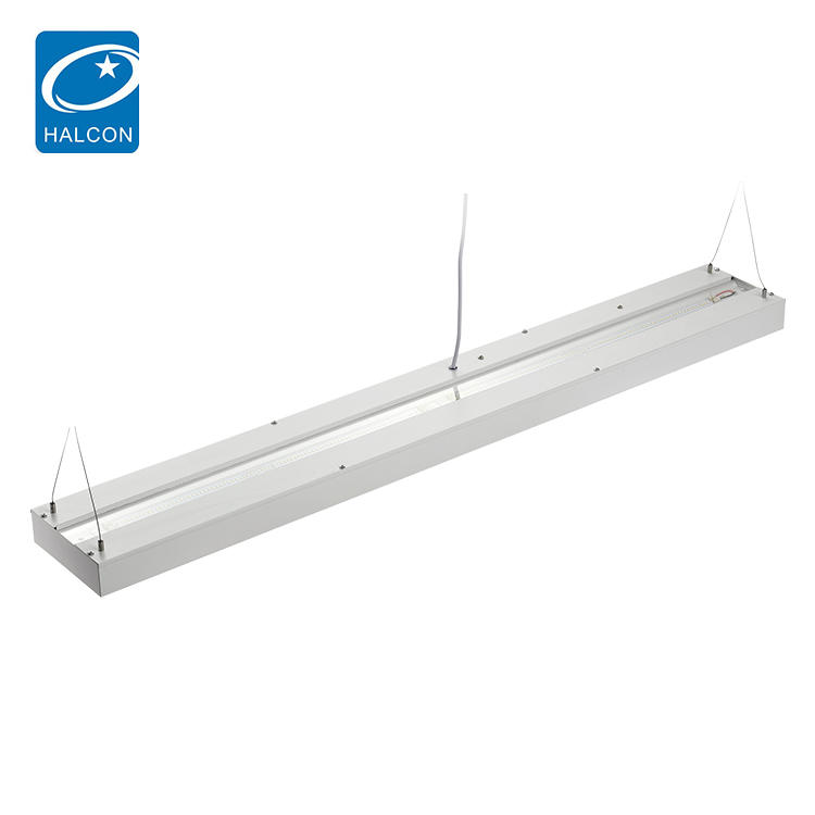Energy Saving Etl Approved 4ft 5ft 40w 50w Led Recessed Linear Lamp