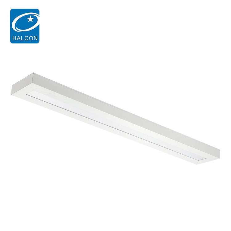 Saving enenrgy 4ft 5ft 40w 50w slim led liner batten light fixture