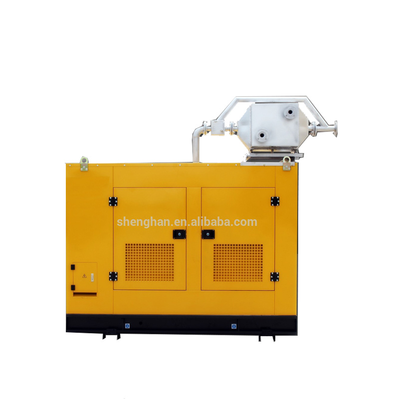 China soundproof biogas 100kva generator with CHP
