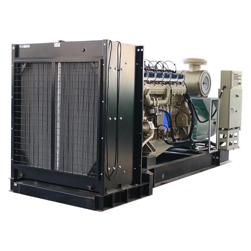 Efficient sound insulation and energy saving gas generation equipment
