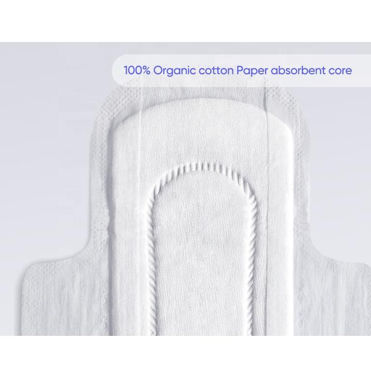 Biodegradable sanitary pads for women custom day use sanitary towel