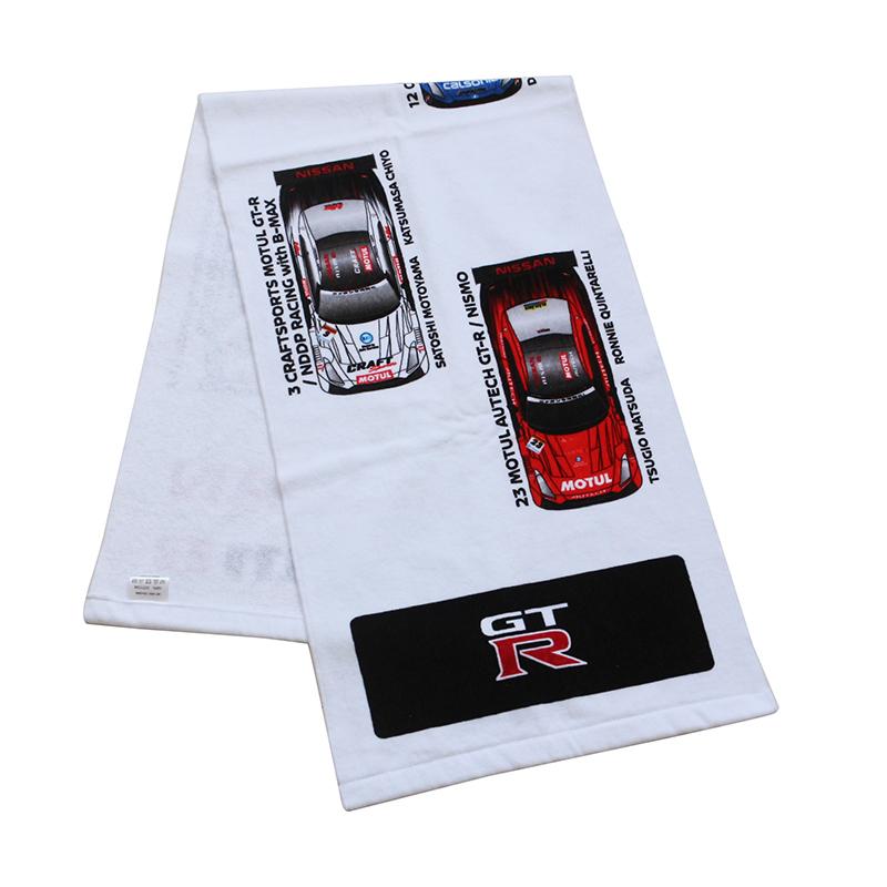 High quality super soft 100% cotton car club towel with custom logo