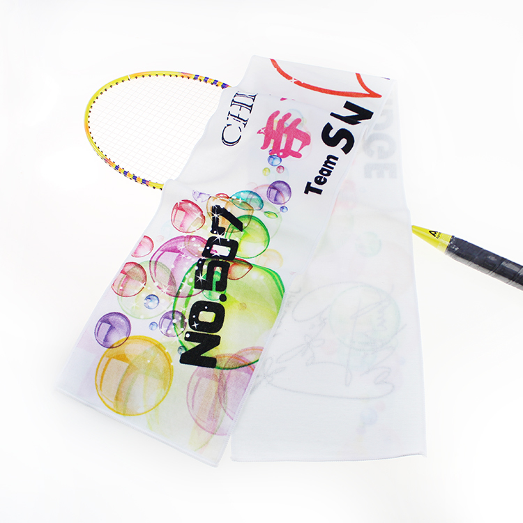 Manufacturer customized design branded 100% cottondigital printoutdoor sportslogan clubtowel fan gift
