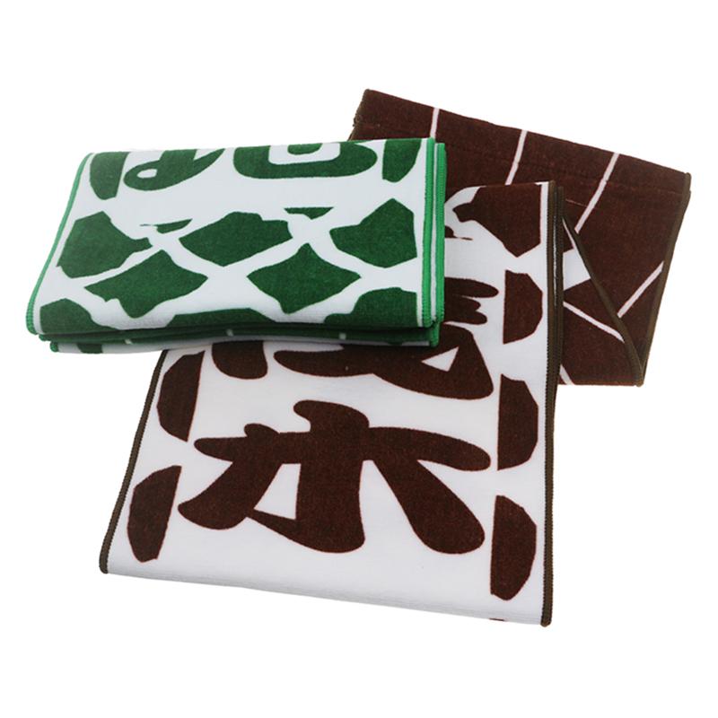 Eco Friendly 100% Cotton Custom Printed Sport Towel Slogan Towel Golf