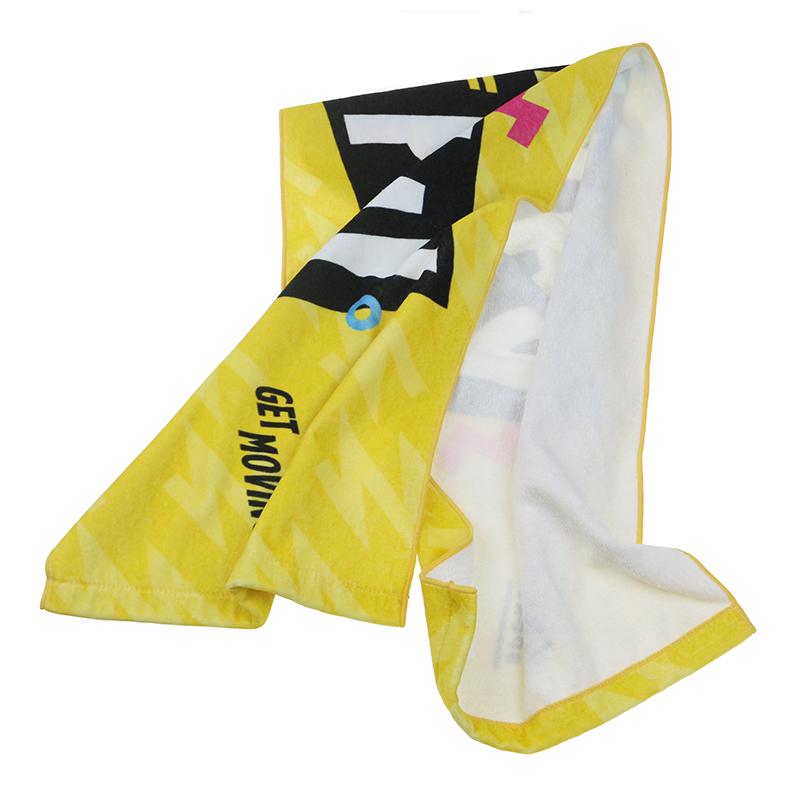 Factory Price Custom Logo Print Sports Towel Gym Towel for Fitness