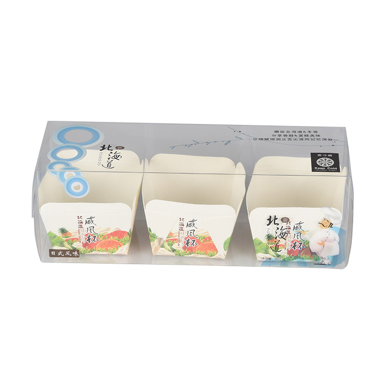 Clear Small Size Plastic Food Storage Pastry Boxes Take Away Cake Packing Box