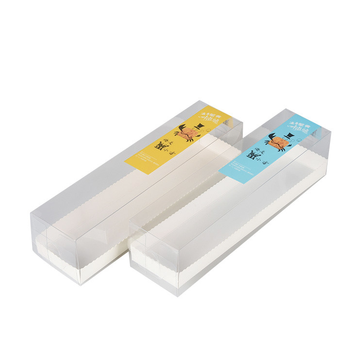 Professional Food Service Light Blue Disposable Plastic Sushi Container